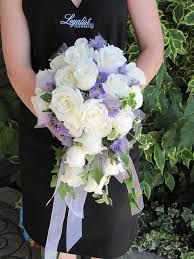 cascade wedding bouquet - Google Search