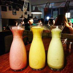 막걸리인가? 스무디인가?  #latergram #makgeolli #alcohol #cocktail #mowmow #itaweon…