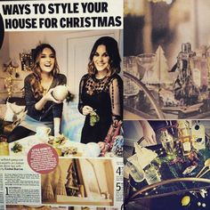 Our had a dream come true by being part of the for styled by Queens of Noel, & Still time to pick up today's to get their top tips on adding festive glitz without going over the top. Irish Store, Drinks Trolley, Green Marble, Christmas Fashion, Dublin Ireland, Lust, Festive, Queens, Photoshoot