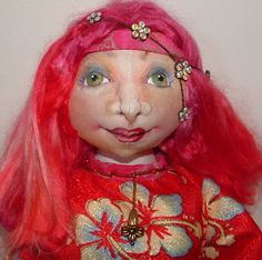 Doll Makers Muse: Francesca- Free Doll Pattern