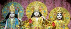 ISKCON Juhu Mangla Deity Darshan 18 July 2016