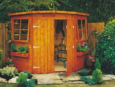 Corner shed...