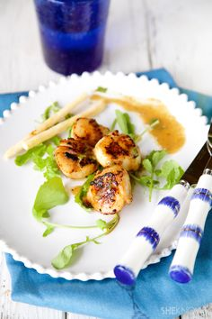 Pan Seared Scallops with Champagne | She Knows