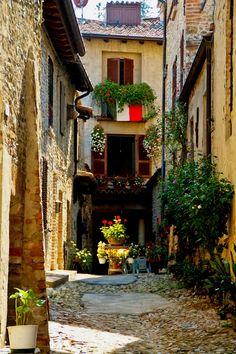Castell'Arquato,(Emilia Romagna) Italy