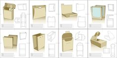 Free packaging templates.