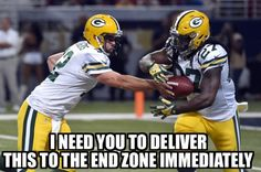Check out our massive range of Green Bay Packers merchandise! Packers Memes, Packers Funny, Packers Baby, Go Packers, Nfl Memes, Packers Football, Football Memes, Sports Memes, Greenbay Packers