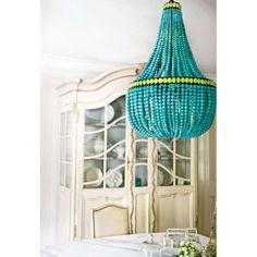 turquoise lighting