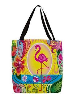 Thumbprintz Shopping Tote, 18-Inch, Flamingo Blossom Sun, http://www.amazon.com/dp/B00KIIUS4C/ref=cm_sw_r_pi_awdm_iU41tb13MD8BN