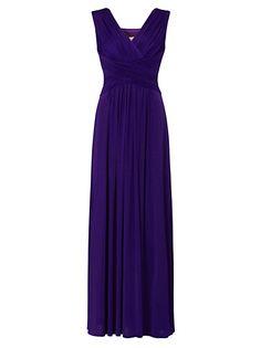 Teatro tall matt and shine maxi dress