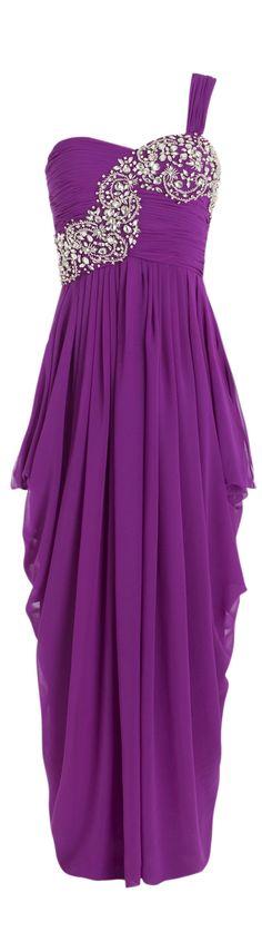 Should a bride wear a purple wedding gown? read at http://boomerinas.com/2012/03/should-a-bride-wear-a-purple-wedding-dress/