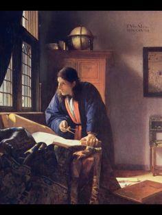 Johannes Vermeer, Caravaggio, Rembrandt, Camera Obscura, Edward Hopper, Chiaroscuro, Manet, Dutch Artists, Famous Artists
