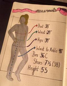 measurements page ✂️