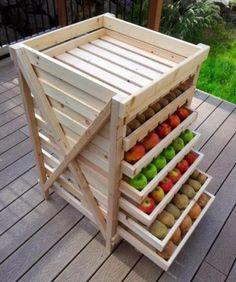 convenient fruit storage, Cool DIY Storage Containers, http://hative.com/cool-diy-storage-containers/,