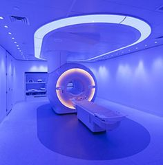 Healthcare Design An ambient MRI experience is also used to reduce patient stress.