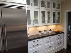 M.I. from California - contemporary - kitchen - - by Tuscan Hills Cabinetry