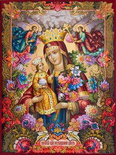 Icon ανεξίτηλες το χρώμα, τη Μητέρα του Θεού Ανεξίτηλος Χρώμα