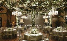 Casamento verde e branco - Por Vic Meirelles