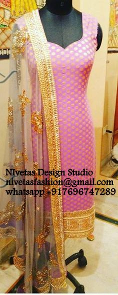 """To order whatsapp +917696747289 Visit us <a href=""""https://www.facebook.com/punjabisboutique"""" rel=""""nofollow"""" target=""""_blank"""">www.facebook.com/...</a> <a class=""""pintag searchlink"""" data-query=""""%23WeddingPunjabisuit"""" data-type=""""hashtag"""" href=""""/search/?q=%23WeddingPunjabisuit&rs=hashtag"""" rel=""""nofollow"""" title=""""#WeddingPunjabisuit search Pinterest"""">#WeddingPunjabisuit</a> <a class=""""pintag searchlink"""" data-query=""""%23CustommadereceptionPunjabisuit"""" data-type=""""hashtag""""…"""