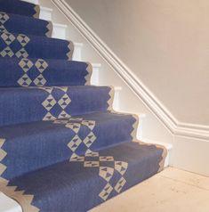 SOPHIE COONEY Stair Rug Runner, Stair Rugs, Stair Runners, Staircase Design, Stairs, Flooring, Blanket, Contemporary, Post Office