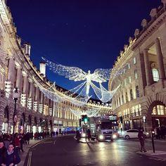 Christmas lights. #london #2016 #streetphotography #iphone7plus #november #angel #regentstreet #festive