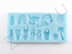 """Stampi per dolci in silicone """"accessori vacanze"""" #ZiZuu #pasticceria #cakedesign #prodotti"""