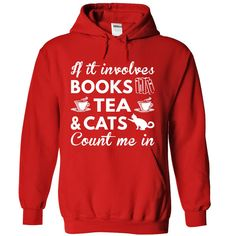 Books, Tea and Cats