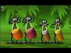 Funny birthday greetings video animation, were cartoon Monkeys singing Happy Birthday song and funny dance in the hip-hop style. Share the short birthday vid.