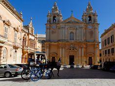 MDINA Malta's medieval walled city ,