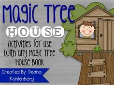 This packet contains lots of activities to carry out a Magic Tree House Literature Unit in your classroom! Activities can be used with any Magic Tree House title. Activities included in this packet:-Book Bag Report Project (parent letter/Rubric)-Notebook Reporting with Jack (Fact pages/mission logs)- Character Trait Activities (Describing, Compare and Contrast, sort, reference card)- Fantasy and Realism Sort- Create your Own Tree House #1 and #2 (with writing activity)- Create your Own ...