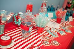 """Photo 1 of 84: Dr. Seuss / Birthday """"Andrew and Alexander's Whimsical Seusville 1st Bday Party """" 