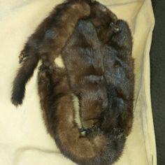 SALE !!!! Vintage  Mink fur stole - gorgeous Beautiful 4 pelt mink stole vintage  Jackets & Coats