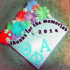 Thanks For The Memories | DIY Graduation Cap