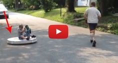 World's Best Dad Builds His Son A Freakin' HOVERBOARD For His Birthday! I Love This!!