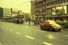 Beetle in Bielefeld (Germany), 1976