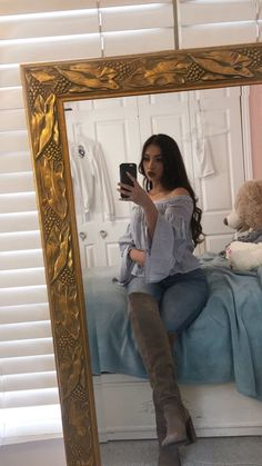 Best Everyday Outfits Part 7 Country Girl Outfits, Cute Cowgirl Outfits, Rodeo Outfits, Country Girls, Casual Outfits, Cute Outfits, Fashion Outfits, Skirt Fashion, Womens Fashion