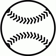 Baseball - Free Printable Coloring Pages sports theme Silhouette Projects, Silhouette Design, Silhouette Cameo, Baseball Crafts, Baseball Party, Baseball Wall, Vinyl Crafts, Vinyl Projects, Art Projects
