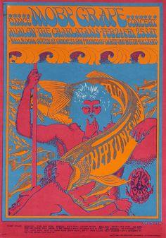 Moby Grape, The Charlatans February 24 & 25, 1966, Avalon Ballroom