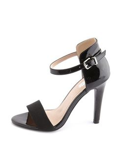 acc8cd20d03b Ankle-Strap Single Sole Pump  Charlotte Russe