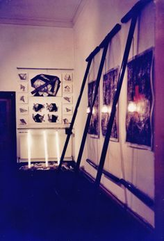 Slade MA show, Goh Ee Choo drawing and print installation at Pearson gallery, Slade School of Fine Arts, University College London, 1990