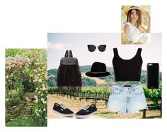"""""""#6"""" by selma-366 ❤ liked on Polyvore featuring Alexander Wang, Calvin Klein Collection, Vans, Quay, Glamorous, Janessa Leone and Gooey"""