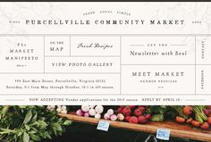 Every Saturday in Purcellville from 10 am pm. Meet Market, Local Events, View Photos, Make It Simple, Fresh