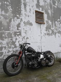 Bobber Inspiration | Knucklehead bobber | Bobbers and Custom Motorcycles