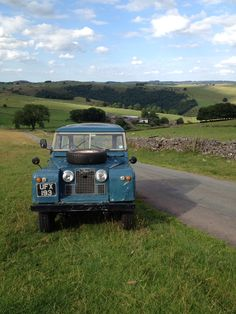 Land Rover 88 Serie II A SWB in landscape is the best complement.
