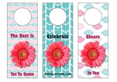Congratulations Gerber Wine Tags on Craftsuprint designed by Sharon Vieira - These fun and modern Wine tags are approx in. Wine Tags, Yet To Come, Congratulations, Paper Crafts, Fun, Modern, Design, Trendy Tree, Tissue Paper Crafts