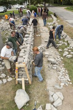 dry-stone walling short course                                                                                                                                                                                 More