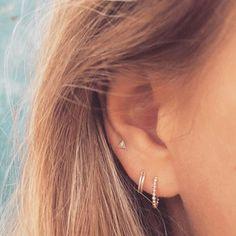 Silver ear cuff No Piercing Cartilage earrings for Women Wedding Silver Jewelry statement cuffs earrings - Custom Jewelry Ideas Ear Jewelry, Body Jewelry, Jewelry Sets, Jewelry Accessories, Jewelry Necklaces, Jewelry Watches, Gold Bracelets, Fine Jewelry, Dress Jewellery
