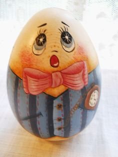 hand painted humpty dumpty egg - Google Search