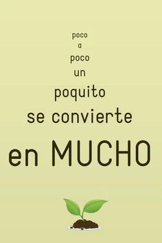 Spanish Memes, Spanish Quotes, Green School, Pretty Quotes, Quote Posters, Words Quotes, Random Quotes, Affirmations, Mindfulness