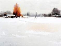 Watercoloristルーマニアコルネリウドラガン - Targovisteの