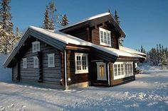 . Cottage, Cozy, Cabin, Rustic, Mansions, Architecture, House Styles, Beautiful, Home Decor